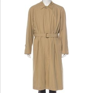 Burberry Vintage Tan Trench Coat